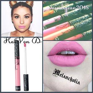 Kat Von D Liquid lipstick 💕 MELANCHOLIA